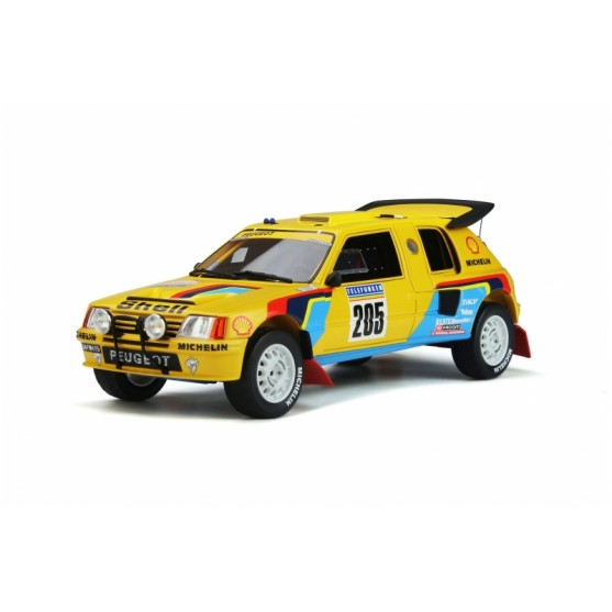 Peugeot 205 Grand Raid T16 1987 vincitore Rallye Paris Dakar Ari Vatanen - Bernard Giroux 1:18