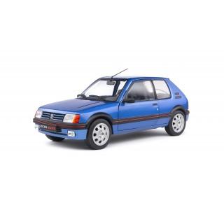 Peugeot 205 GTi 1,9 1988 Miami Blu 1:18