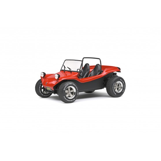 Meyers Manx Buggy Open top 1968 Red 1:18