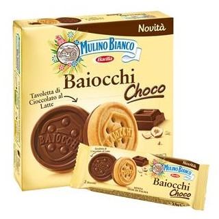 Baiocchi Choco 6 monoporzioni da 2 biscotti 144 gr