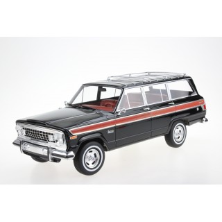 Jeep Grand Wagoneer 1979 Black 1:18