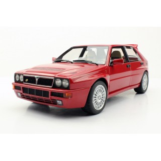 Lancia Delta Integrale Evolution II 1992 Dealers Edition Red 1:18