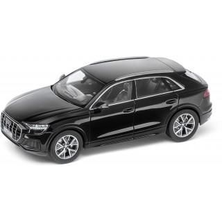 Audi Q8 2018 Orca Black 1:43