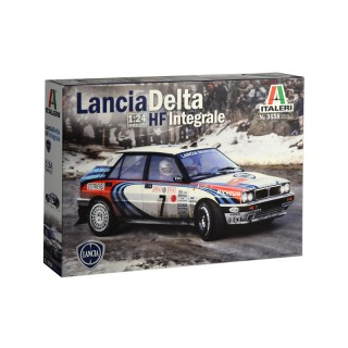 Lancia Delta HF integrale Martini Racing Kit 1:24