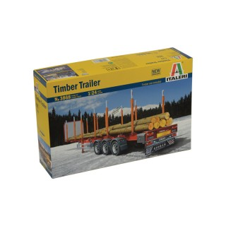 Semirimorchio Timber Trailer Kit 1:24