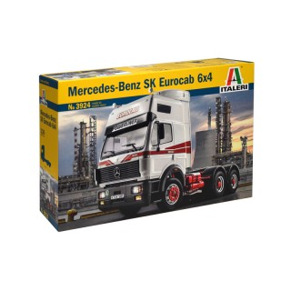 Mercedes-Benz SK Eurocab 6x4 Kit 1:24