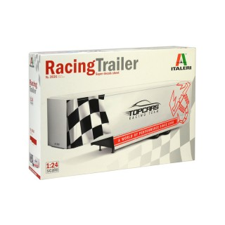 Semirimorchio Racing Trailer Kit 1:24