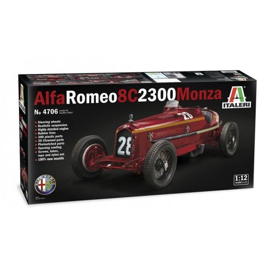 ALFA ROMEO 8C 2300 Monza Tazio Nuvolari  Kit 1:12