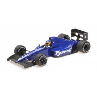 Tyrrell Ford 018 3rd Place Mexican GP 1989  Michele Alboreto 1:18