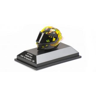 Valentino Rossi Casco AGV Helmet 2018 Test Sepang Moto Gp 1:8