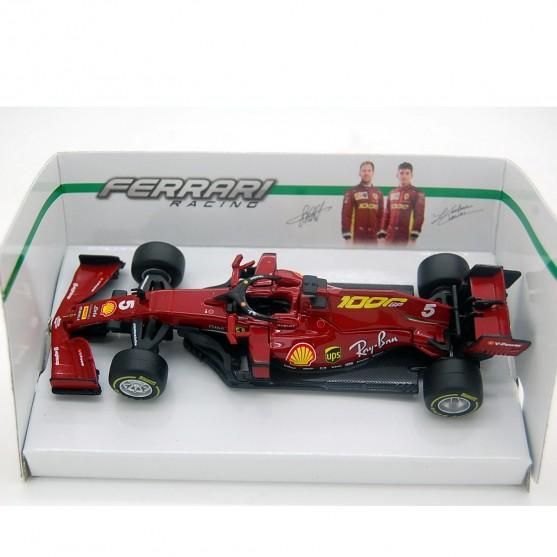 Ferrari SF1000 Tuscany GP 2020 Sebastian Vettel no figure 1:43