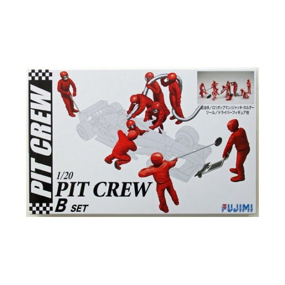 Fujimi Formula 1 Pit Crew Set A  Kit 1:20