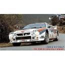 Lancia 037 Winner Rally 1984 Tour De Corse Rally Kit 1:24