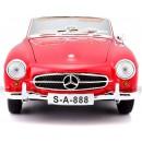 Mercedes-Benz 190 SL 1955 Convertible Red 1:18