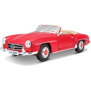 Mercedes-Benz 190 SL 1955 Convertible Red 1:18