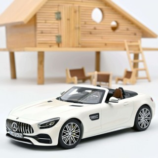 Mercedes-AMG GT C Roadster 2017 White metallic 1:18