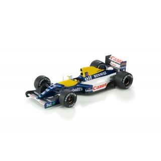 Williams Renault FW14B F1 1992 Riccardo Patrese 1:18