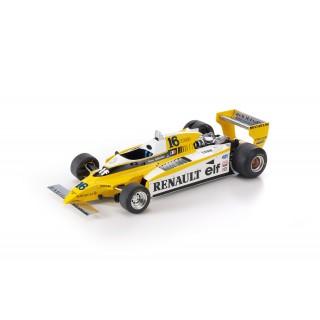 Renault RE20 Turbo F1 1980 Rene Arnoux 1:18
