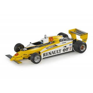 Renault RE20 Turbo F1 1980 Jean-Pierre Jabouille 1:18