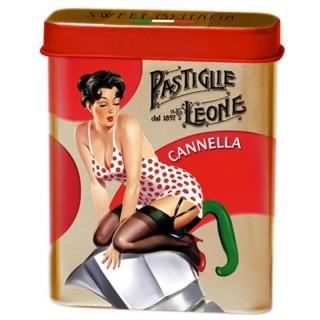 Pastiglie Leone Sweet (S) Italia Cannella lattina da 15g