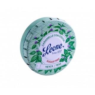 Pastiglie Leone Stevia Menta lattina da 30g