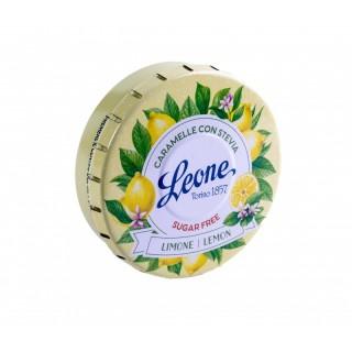 Pastiglie Leone Stevia Limone lattina da 30g