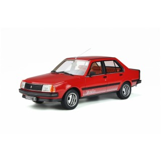 Renault 18 Turbo 1981 Red 1:18