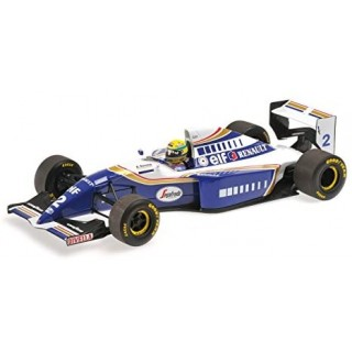 Williams Renault FW16 F1 1994 Ayrton Senna 1:18