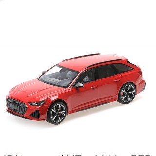 Audi ABT RS6 Avant 2019 Red 1:18
