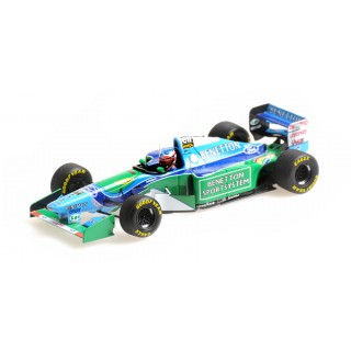 Benetton Ford B194 F1 1994 Michael Schumacher Winner Canadian Gp 1:43