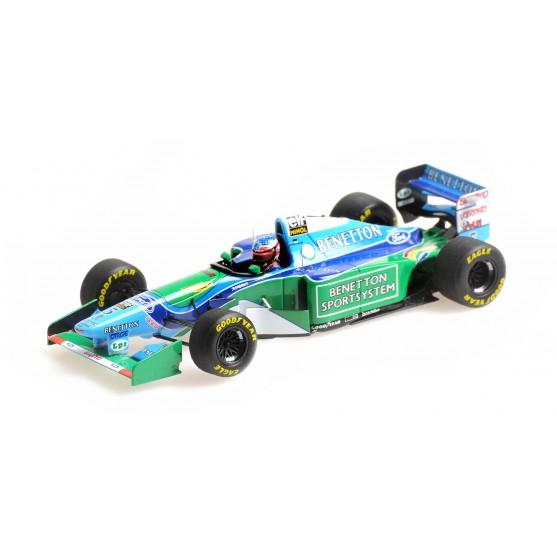 Benetton Ford B194 F1 1994 Michael Schumacher Winner Canadian Gp 1:43