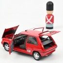 Renault Supercinq GT Turbo 1989 Red 1:18