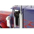 Peterbilt 359 Tractor Truck 3-Assi 1967 Blue Red 1:18