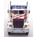 Peterbilt 359 Tractor Truck 3-Assi 1967 USA Stars and Stripes 1:18