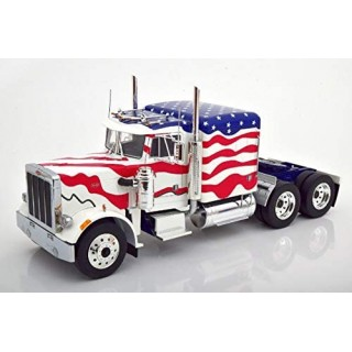 Peterbilt 359 Tractor Truck 3-Assi 1967 USA Stars and Stripes 1:18