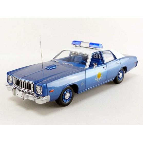 "Plymouth Fury Arkansas Police Car ""Smokey & The Bandit"" 1:18"
