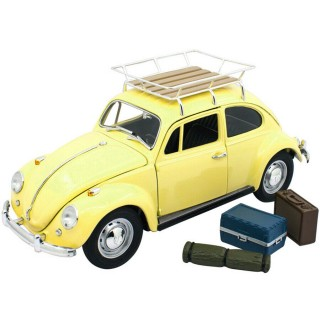 Volkswagen Beetle 1967 Camping Version Yellow 1:18