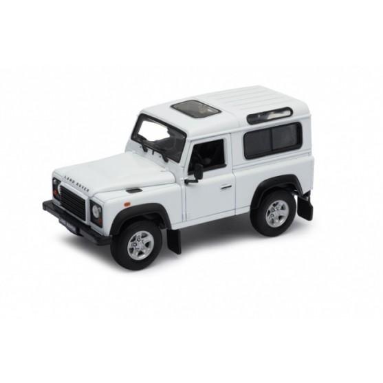 Land Rover Defender 90 1984 white 1:24