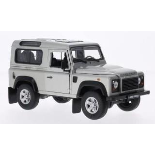 Land Rover Defender 90 1984 Silver 1:24