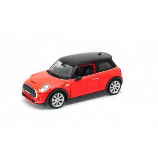 Mini Hatch 2013 Red - Black 1:24
