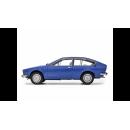Alfa Romeo Alfetta GTV 2000 1976 Blue Leman 1:18