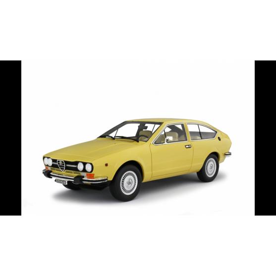 Alfa Romeo Alfetta GTV 2000 1976 Giallo Piper 1:18