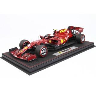 Ferrari F1 2020 SF1000 Tuscany Gp 1000th Gp Ferrari Charles Leclerc con Vetrina 1:18
