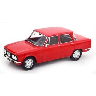 Alfa Romeo Nuova Giulia 1600 Super anno 1974 Rosso 1:18