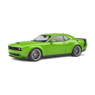 Dodge Challenger  R/T Scat Pack Widebody Green 1:18