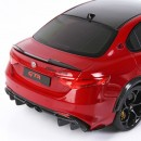 Alfa Romeo Giulia GTA  Rosso GTA Brakes Gold 1:18