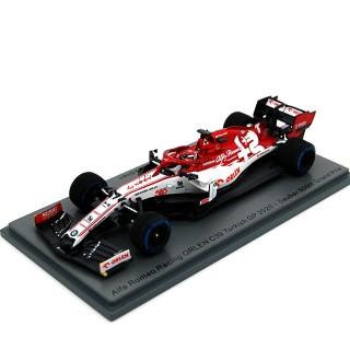 Alfa Romeo Racing Orlen F1 Team C39 Turkish Gp 500th Kimi Raikkonen 1:43