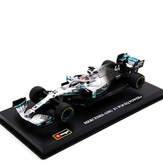 Mercedes Amg Petronas W10 EQ Power F1 2019 Lewis Hamilton con pilota 1:43