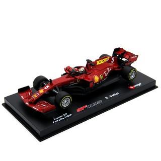 Ferrari SF1000 Tuscany GP 2020 Sebastian Vettel con pilota 1:43
