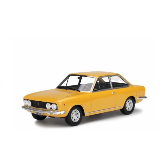 Fiat 124 Sport Coupé 1969 1° Serie Giallo Positano 1:18